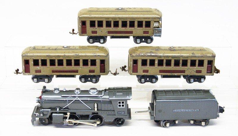 Lionel Pre-war 249e Passenger Set