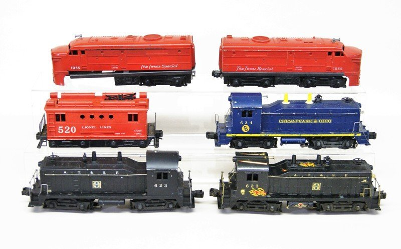 Lionel Post-war Diesel Locomotives, Lot of Six