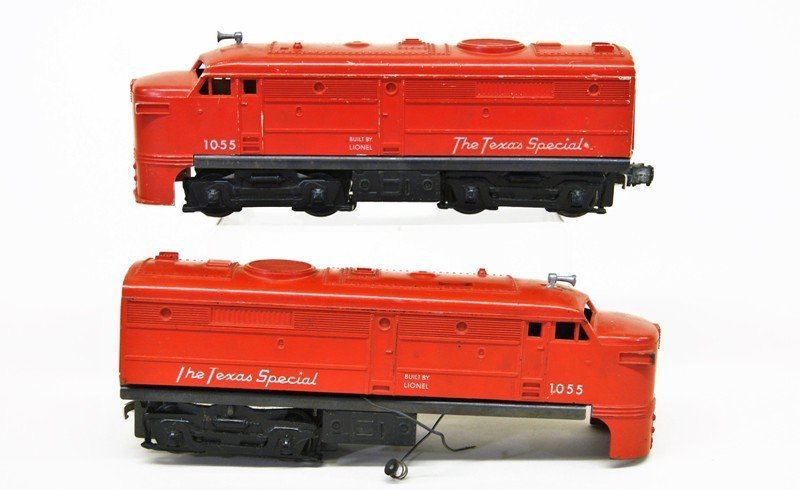 Lionel Post-war Diesel Locomotives, Lot of Six - 6