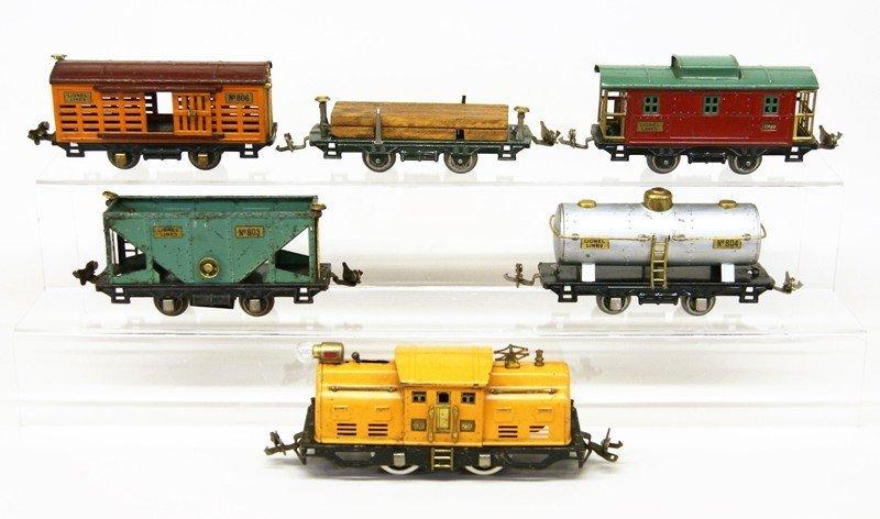 Lionel Pre-war #250 Freight Set