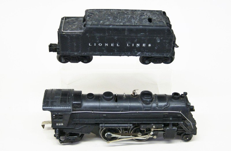 Lionel Lot of Four Lionel Steam Engines - 4