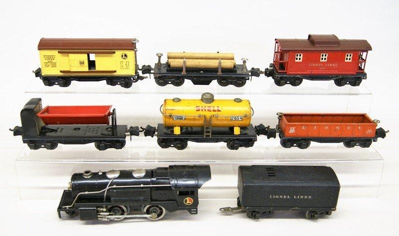Lionel Pre-war 259 Freight Set