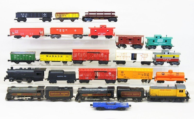 Vintage Marx O Gauge Diesel Freight Set and Wind-up