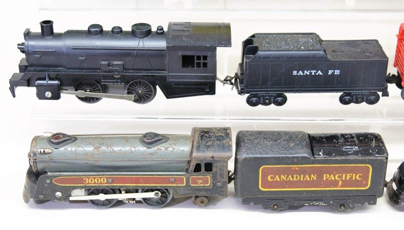 Vintage Marx O Gauge Diesel Freight Set and Wind-up - 2