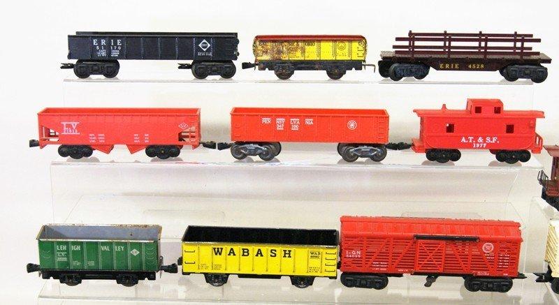 Vintage Marx O Gauge Diesel Freight Set and Wind-up - 3
