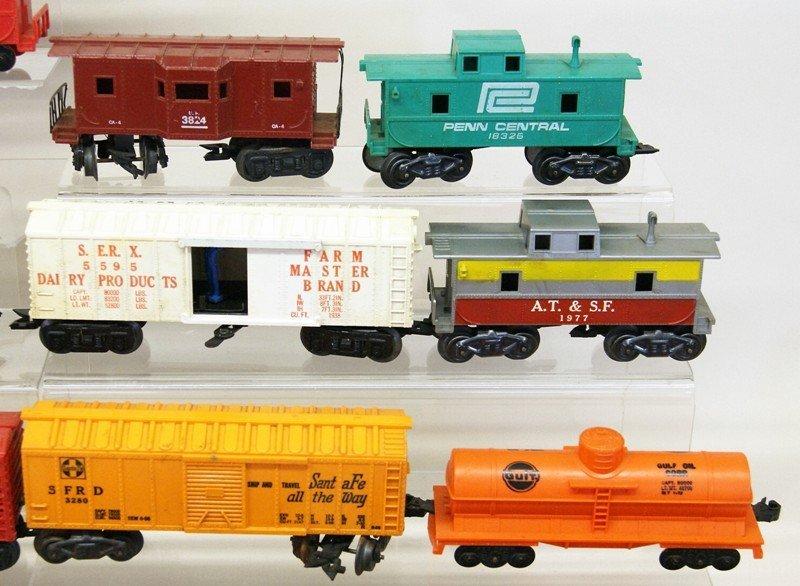 Vintage Marx O Gauge Diesel Freight Set and Wind-up - 5