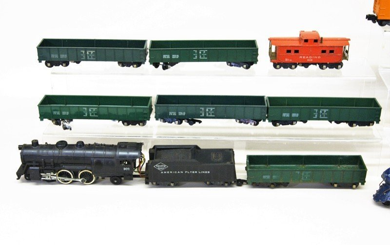 Two American Flyer S Gauge Freight Trains - 2
