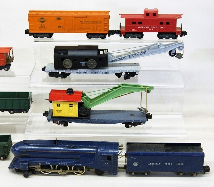 Two American Flyer S Gauge Freight Trains - 3