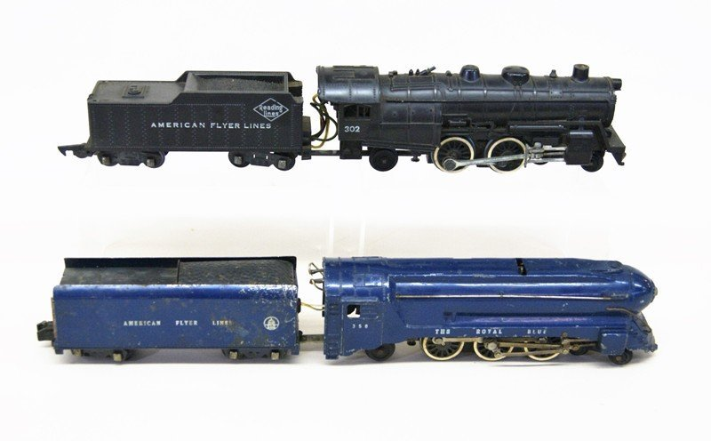 Two American Flyer S Gauge Freight Trains - 4