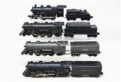Lot of Four Lionel Steam Locomotives