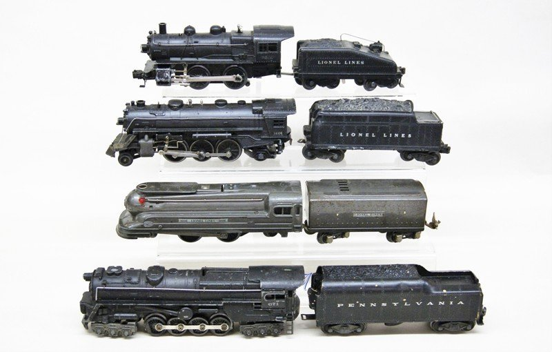Lot of Four Lionel Steam Locomotives