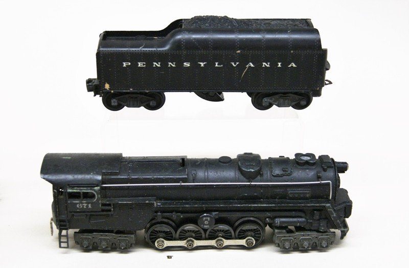 Lot of Four Lionel Steam Locomotives - 2