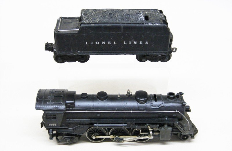 Lot of Four Lionel Steam Locomotives - 4
