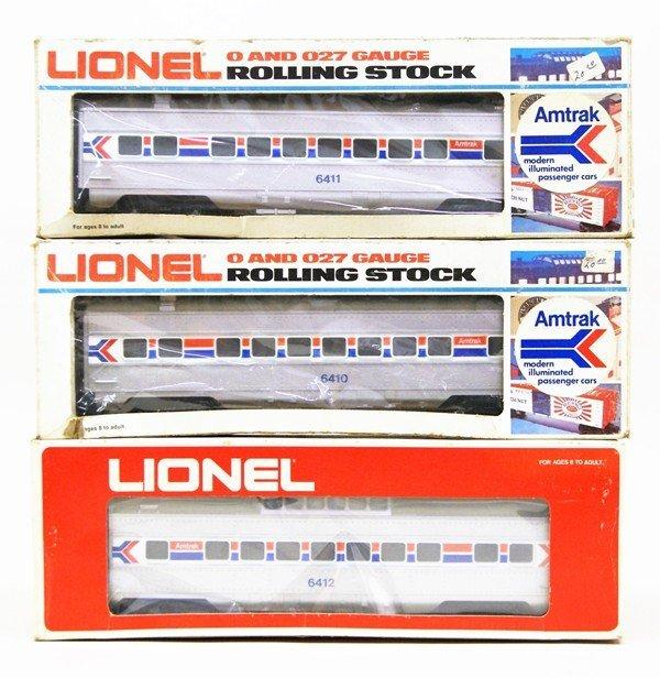 Lionel Modern Era Amtrak Passenger Car Lot of Five Cars - 2