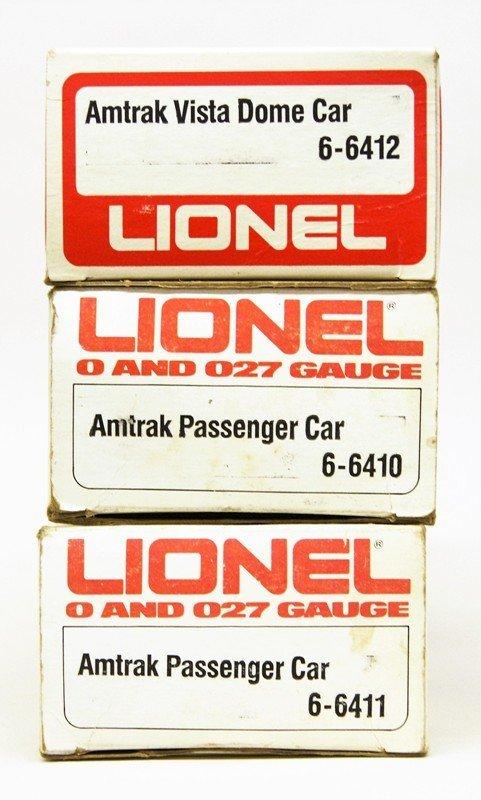 Lionel Modern Era Amtrak Passenger Car Lot of Five Cars - 3
