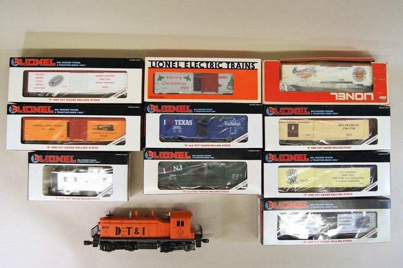 Lionel Modern Era Diesel Boxcar Freight Set