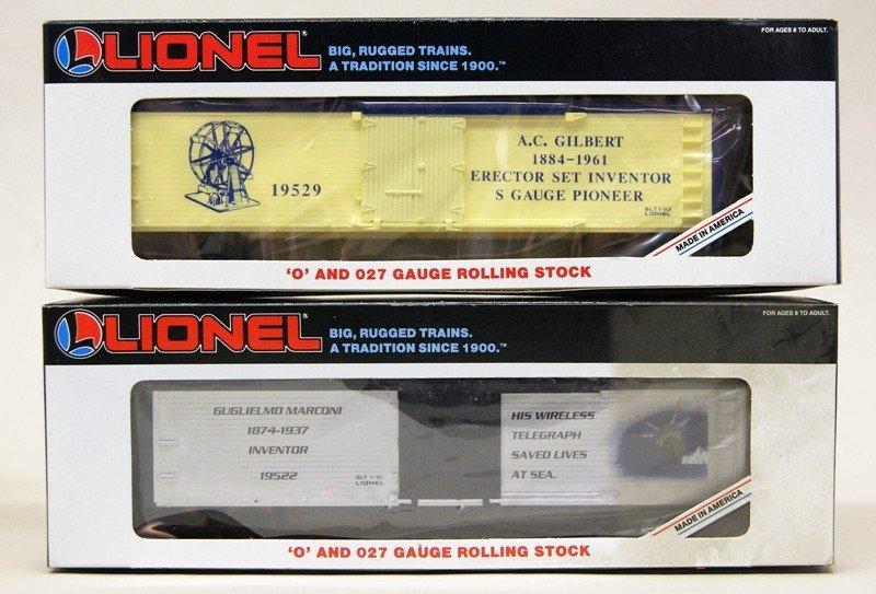 Lionel Modern Era Diesel Boxcar Freight Set - 4