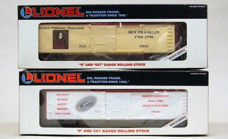 Lionel Modern Era Diesel Boxcar Freight Set - 5