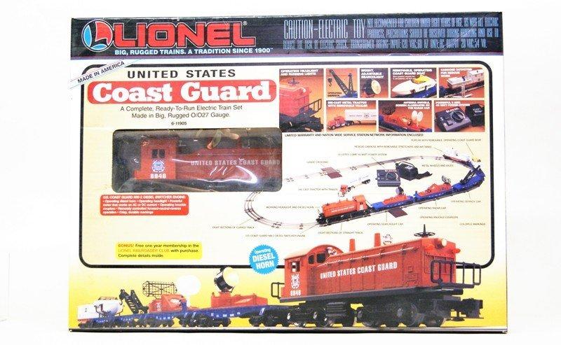 Lionel U.S. Coast Guard Train Set 11905