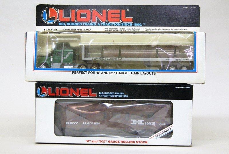 Lionel Modern Era Work Train with 8806 Engine - 5