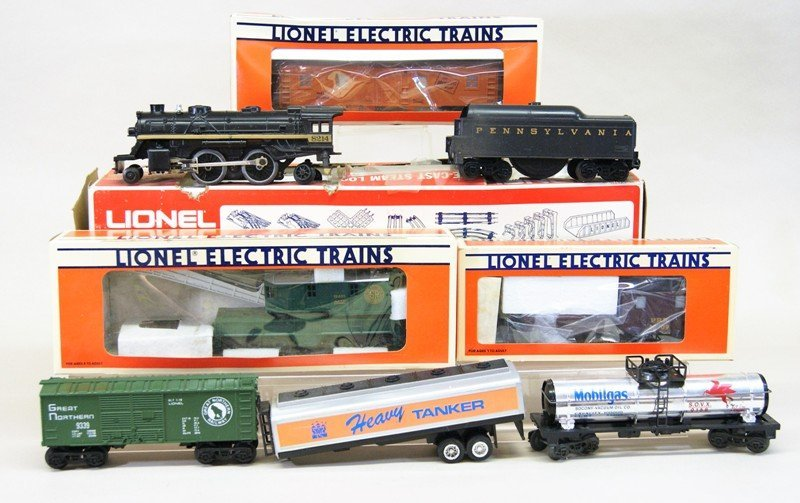 Lionel Work Train with 8214 Engine and Tender in
