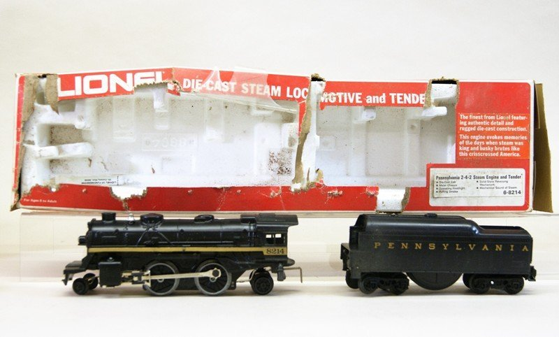 Lionel Work Train with 8214 Engine and Tender in - 2