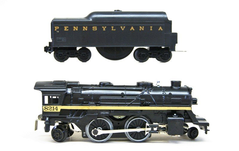 Lionel Work Train with 8214 Engine and Tender in - 3