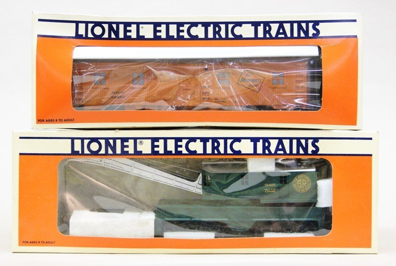 Lionel Work Train with 8214 Engine and Tender in - 4
