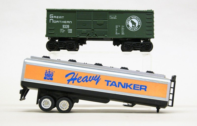 Lionel Work Train with 8214 Engine and Tender in - 6