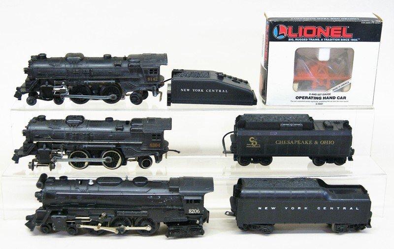 Lionel Modern Era Steam Locomotives with Operating Hand