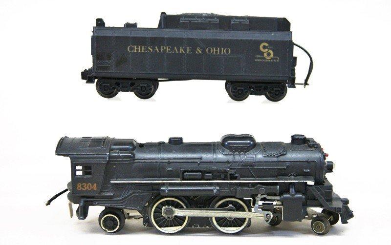 Lionel Modern Era Steam Locomotives with Operating Hand - 3