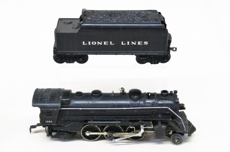 Two Lionel 1666 Engines - 2