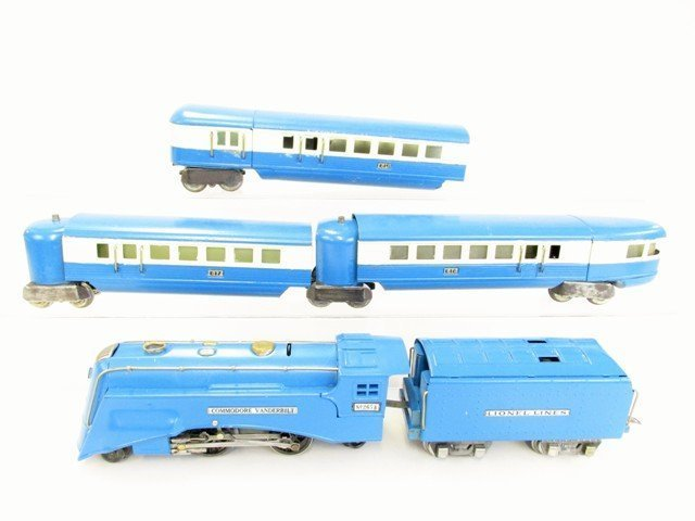 Pre-war Lionel Blue Streak Passenger Train Set w/OB