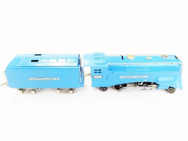 Pre-war Lionel Blue Streak Passenger Train Set w/OB - 3