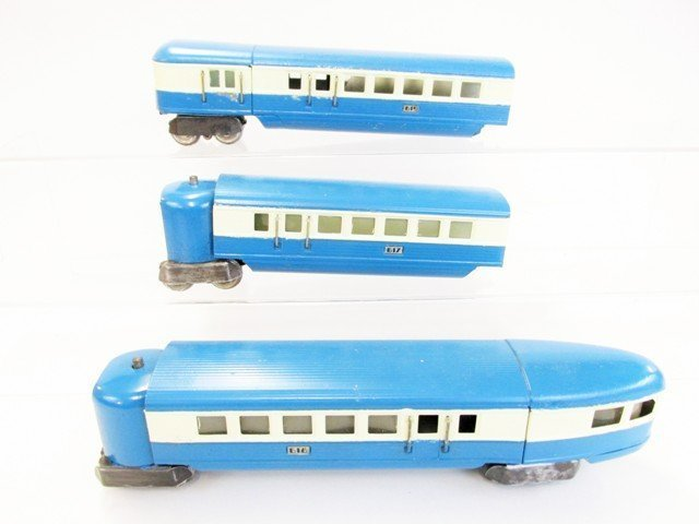 Pre-war Lionel Blue Streak Passenger Train Set w/OB - 4