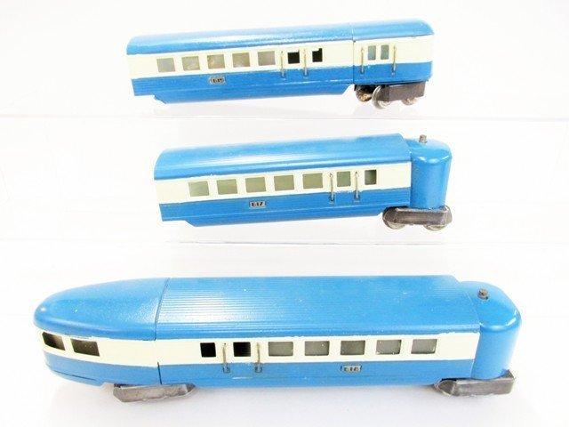 Pre-war Lionel Blue Streak Passenger Train Set w/OB - 5