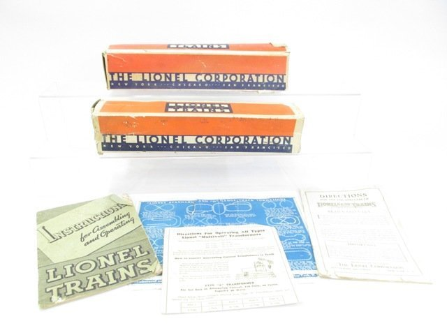 Pre-war Lionel Blue Streak Passenger Train Set w/OB - 6