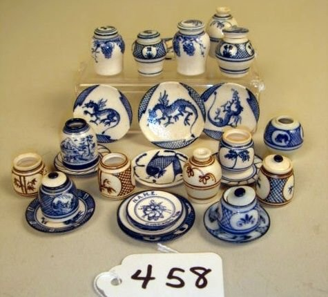 458: Collection Jim Clark Pottery: