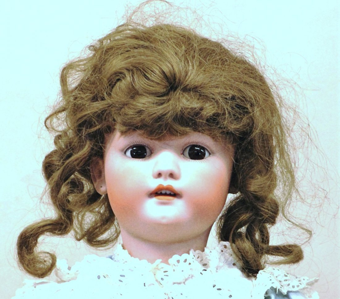 Two Bisque Head Dolls - 5