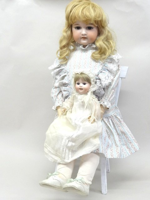 Two Dolls - A.M. and HK Baby