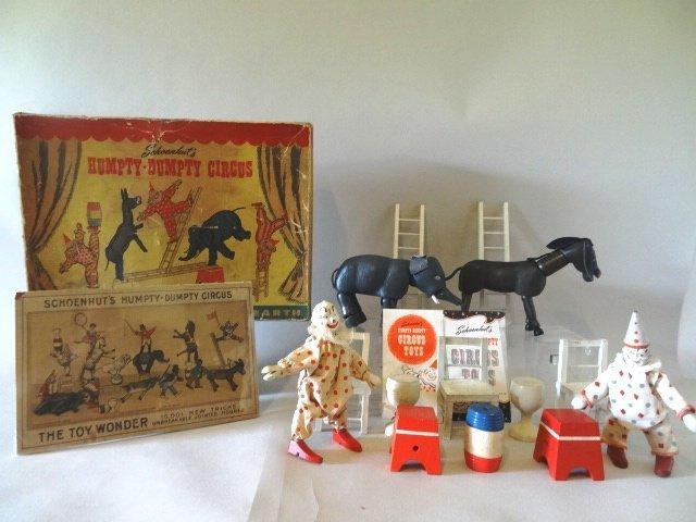 Schoenhut Circus Original Box