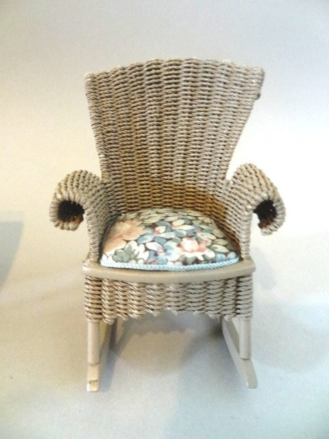 Artist Dollhouse Furniture P. Taylor Wicker - 2
