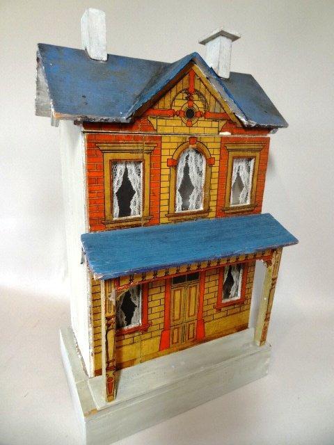 Blue-roof Gottschalk Dollhouse