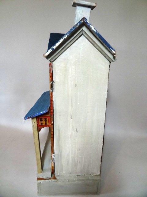 Blue-roof Gottschalk Dollhouse - 4
