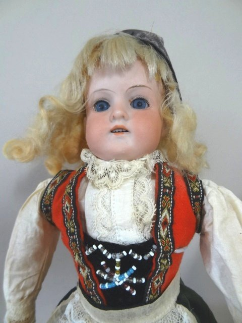Lot of Two Bisque Head Dolls - 2