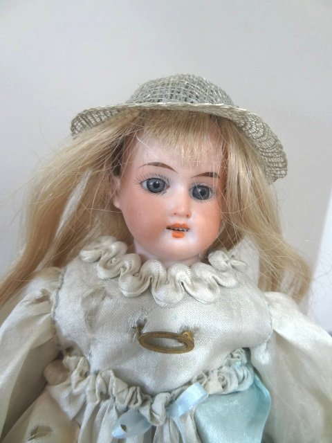 Lot of Two Bisque Head Dolls - 3