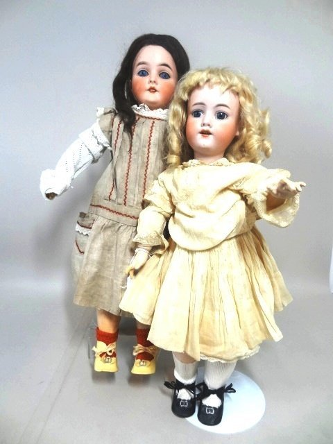 Lot of Two Armand Marseille Dolls