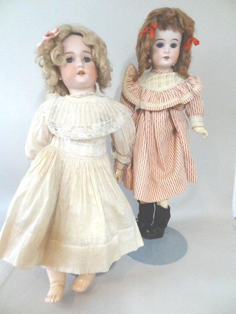 C.M. Bergmann and Schoenhau & Hoffmeister Dolls