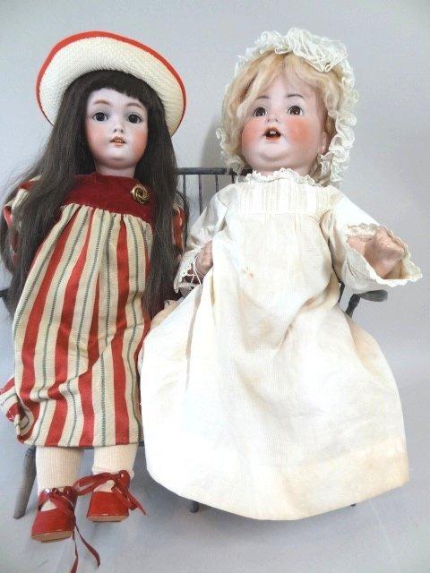 Simon and Halbig Baby and C.M. Bergmenn Doll
