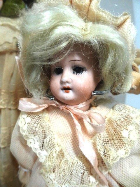 Two Bisque Head Dolls - 2
